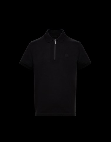 POLO Black Category Polo shirts Man