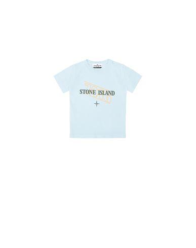 "STONE ISLAND BABY 21054 ""SIGN LETTERING THREE"" PRINT  T-Shirt Herr Himmelblau EUR 75"