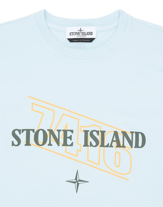 12548381gx - Polo - T-Shirts STONE ISLAND JUNIOR
