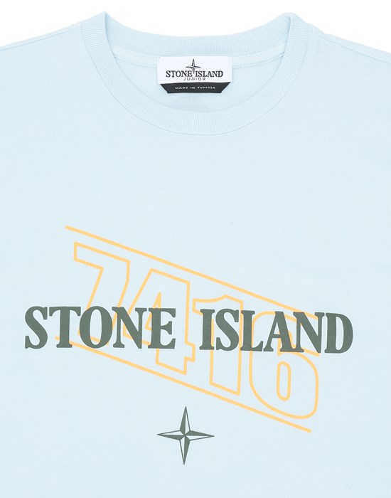 12548382qg - Polo - T-Shirts STONE ISLAND JUNIOR