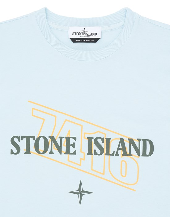 12548384bn - Polo - T-Shirts STONE ISLAND JUNIOR