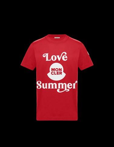 T-SHIRT Colore Rosso Categoria T-shirt Uomo