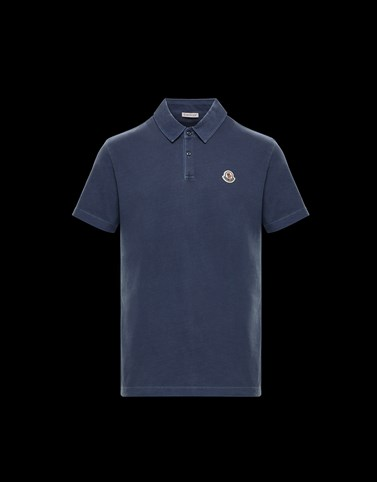 POLO Slate blue Shirts Man