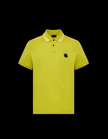 POLO Acid green Shirts Man