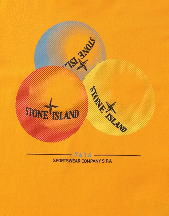 12552651ro - Polos - T-Shirts STONE ISLAND JUNIOR