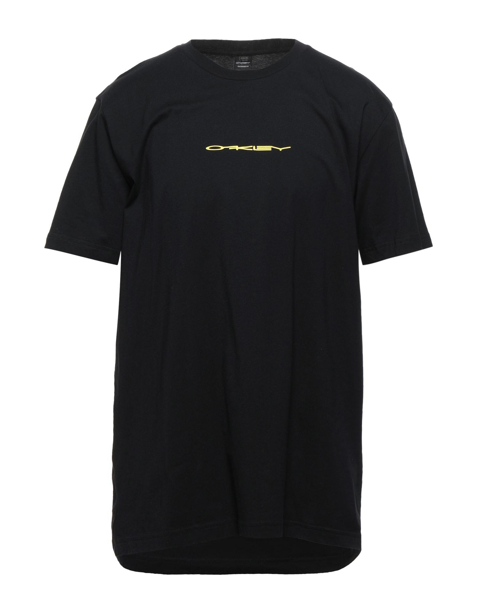 《セール開催中》OAKLEY メンズ T シャツ ブラック XXL コットン 100%