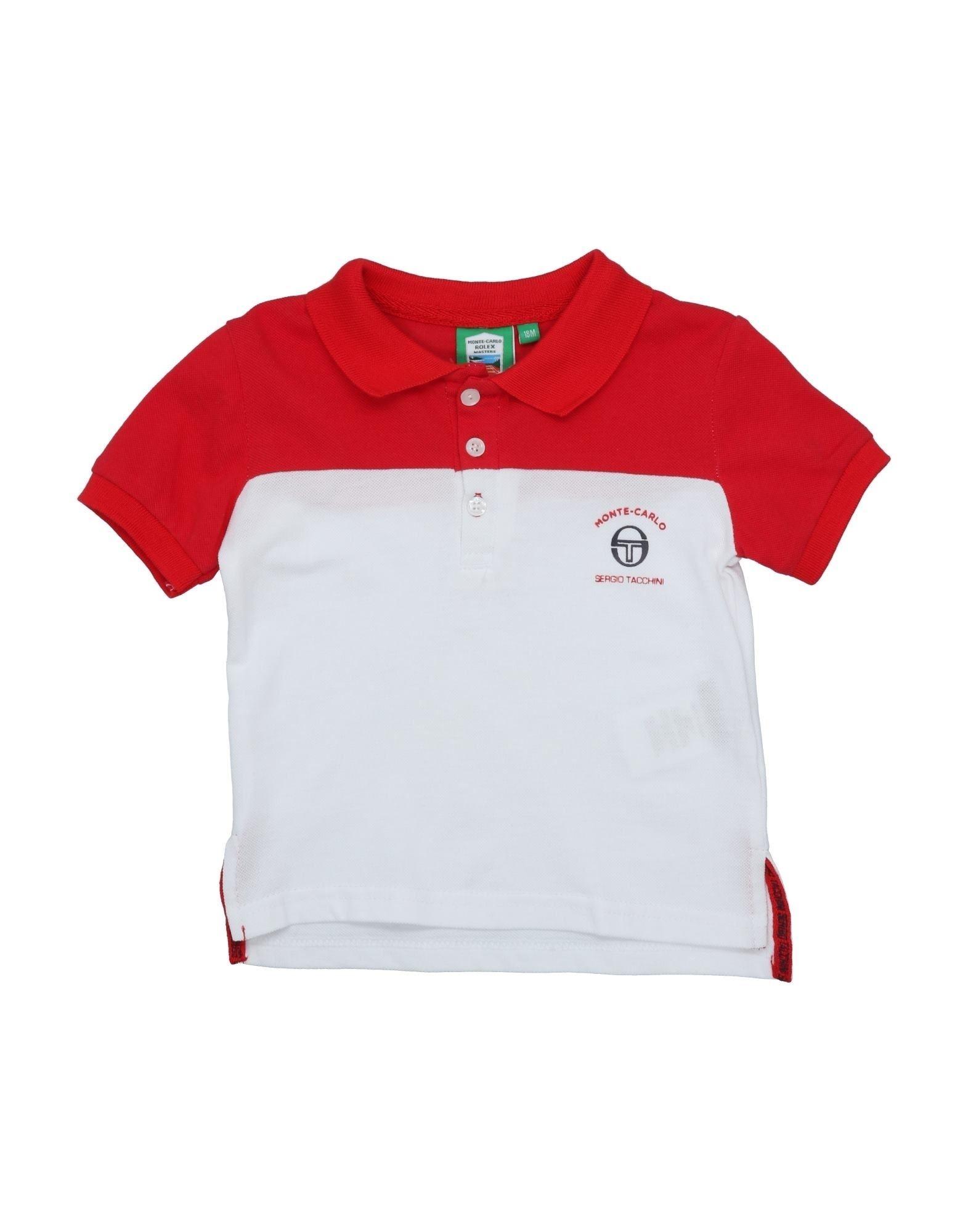 《セール開催中》SERGIO TACCHINI ボーイズ 0-24 ヶ月 ポロシャツ レッド 18 コットン 100%