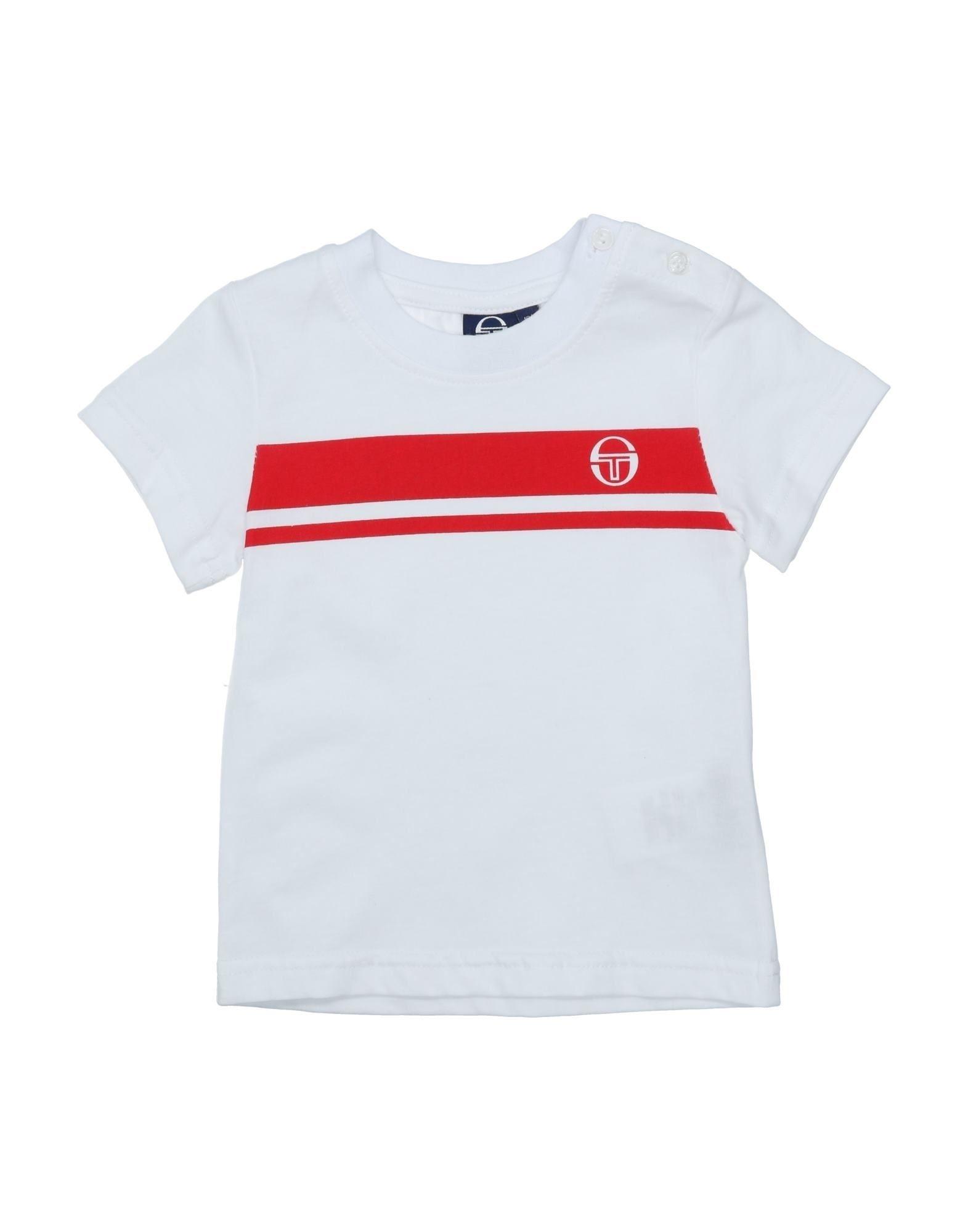 《セール開催中》SERGIO TACCHINI ボーイズ 0-24 ヶ月 T シャツ ホワイト 18 コットン 100%