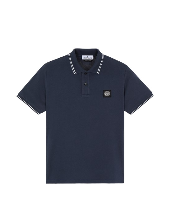 STONE ISLAND JUNIOR 21348 Short sleeve t-shirt Man Black