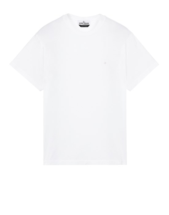 STONE ISLAND 21213 Short sleeve t-shirt Man White