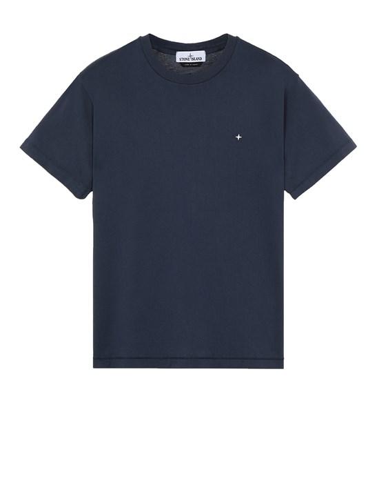 STONE ISLAND 21213 Short sleeve t-shirt Man Avio Blue