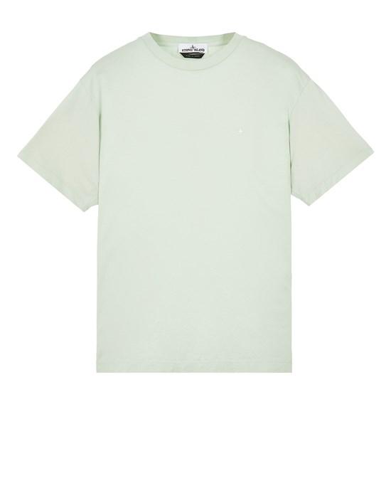 STONE ISLAND 21213 Short sleeve t-shirt Man Light Green