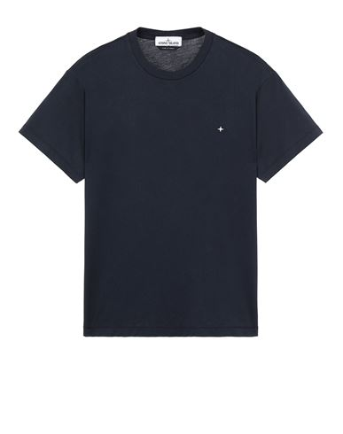STONE ISLAND 21213 Short sleeve t-shirt Man Blue USD 114