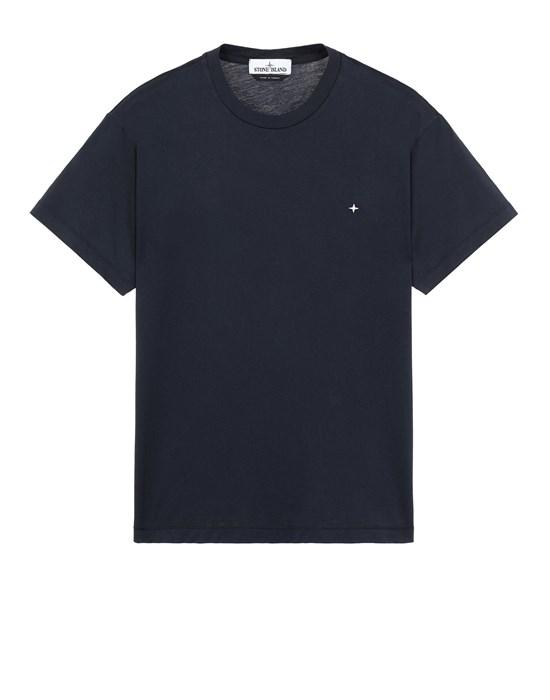 STONE ISLAND 21213 T-Shirt Herr Blau
