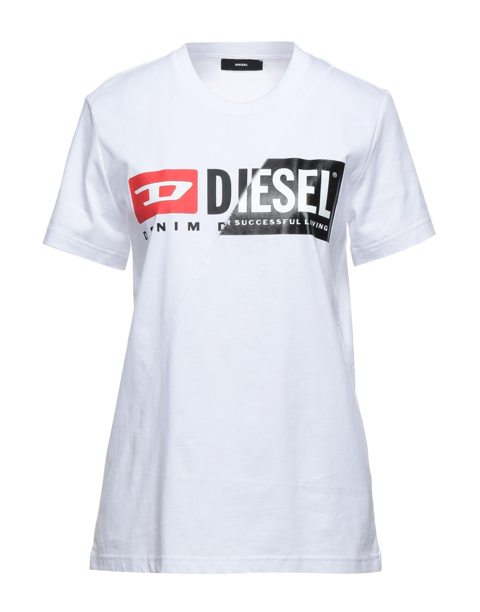 футболка diesel diesel di303ewbvgn9 DIESEL Футболка