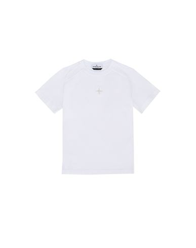STONE ISLAND JUNIOR 20551 Short sleeve t-shirt Man White USD 119