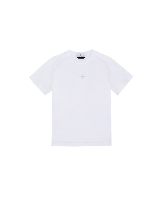 Short sleeve t-shirt Man 20551 Front STONE ISLAND JUNIOR