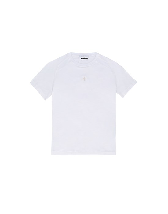 Short sleeve t-shirt Man 20551 Front STONE ISLAND TEEN