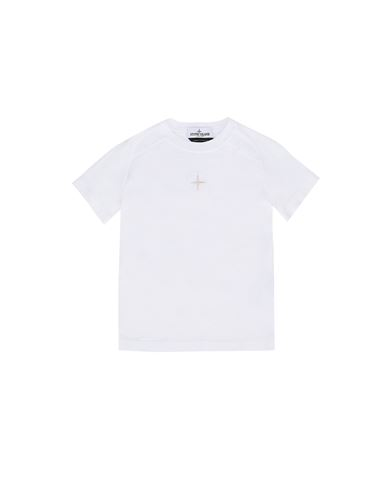 STONE ISLAND KIDS 20551 Short sleeve t-shirt Man White EUR 73