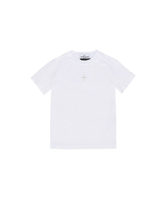 STONE ISLAND KIDS 20551 Short sleeve t-shirt Man White