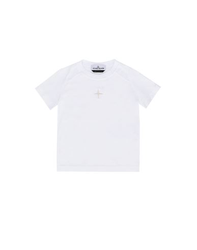 STONE ISLAND BABY 20551 Short sleeve t-shirt Man White EUR 79