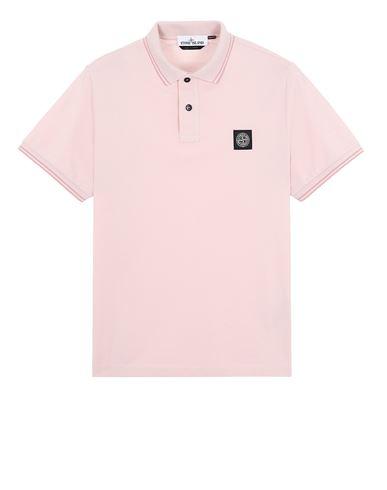 STONE ISLAND 22S18 Polo shirt Man Pastel pink EUR 95