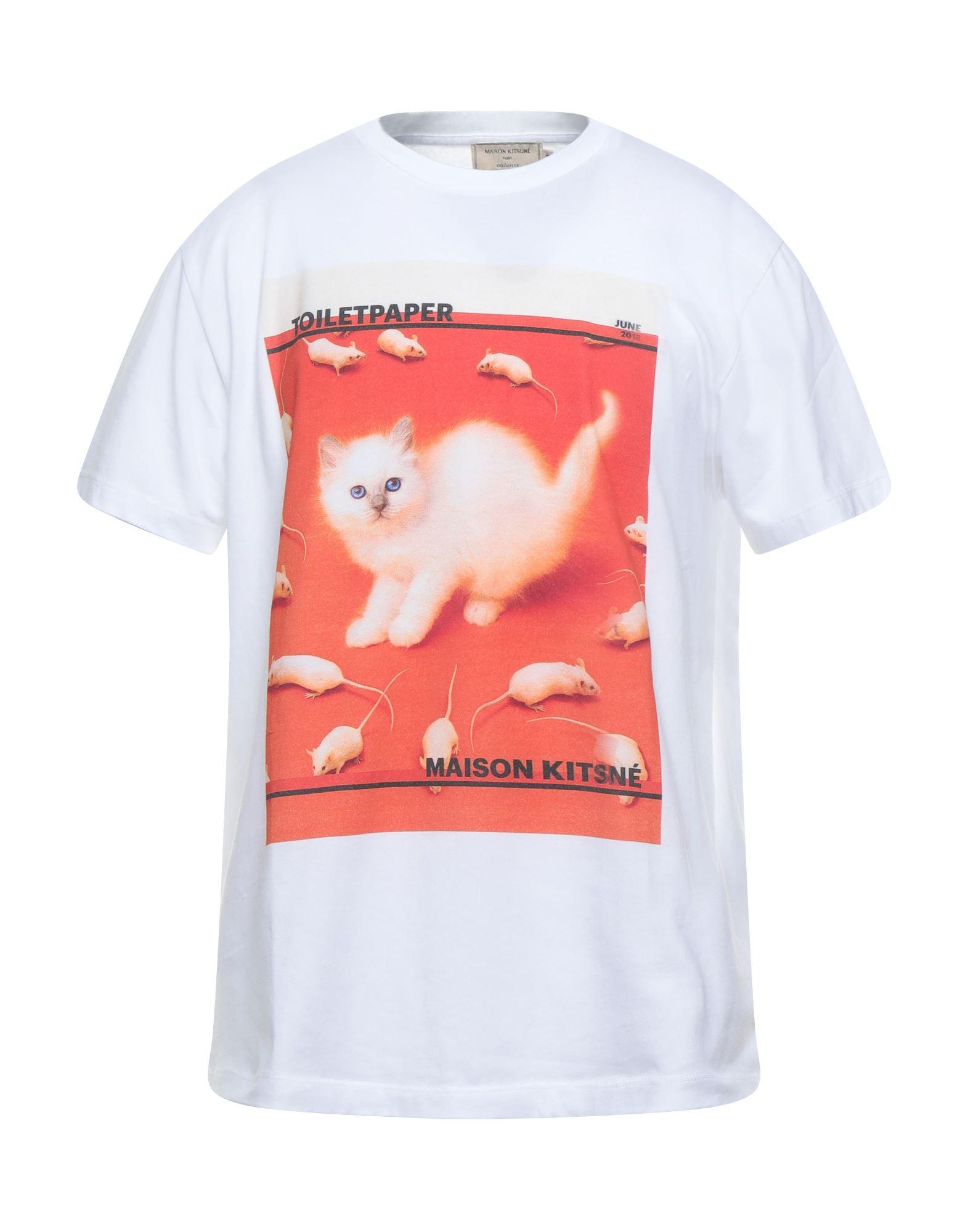MAISON KITSUNÉ Футболка maison kitsuné футболка