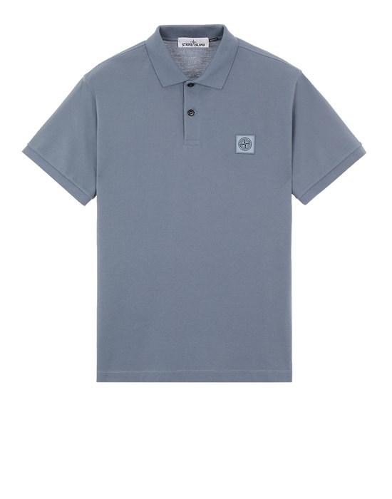 Polo shirt Man 22R39 50/2 COTTON PIQUÉ_REGULAR FIT Front STONE ISLAND