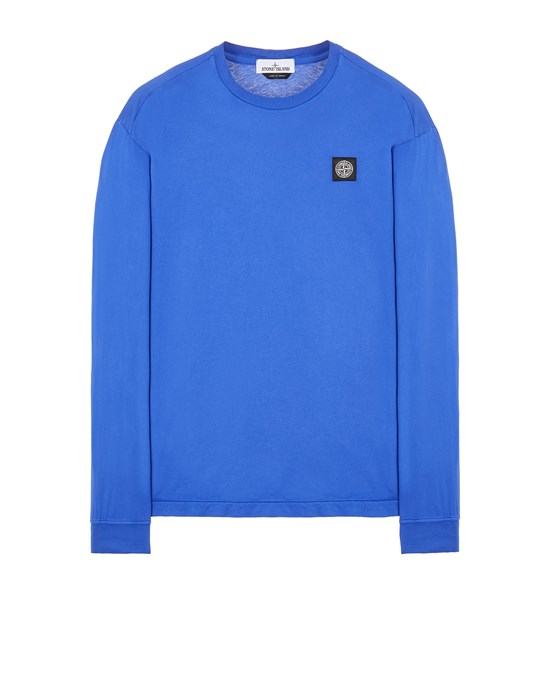 Long sleeve t-shirt Man 22713 60/2 COTTON JERSEY_SLIM FIT Front STONE ISLAND