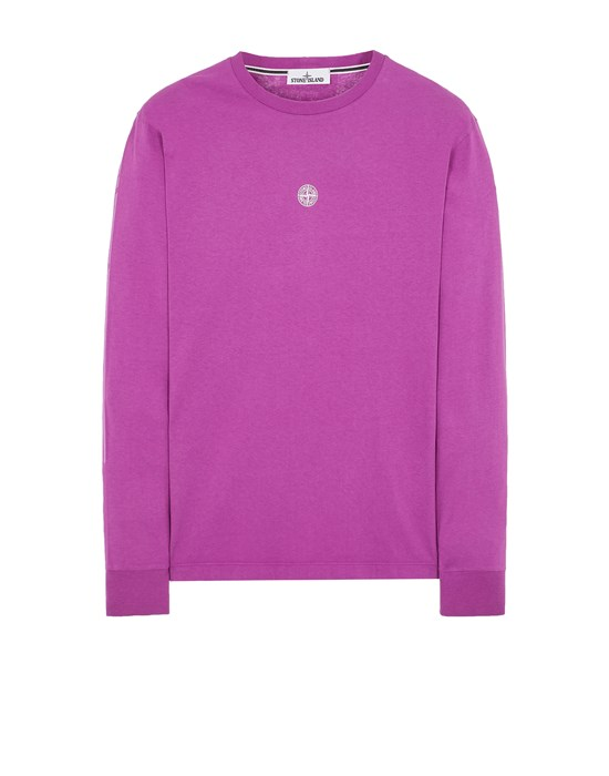 Long sleeve t-shirt Man 2ML80 COTTON JERSEY 'MOSAIC THREE' PRINT_SLIM FIT Front STONE ISLAND