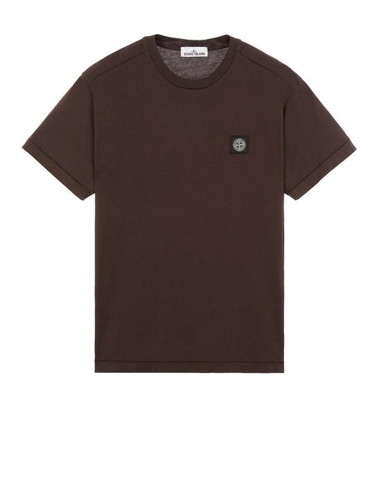 Short sleeve t-shirt Man 24113 60/2 COTTON JERSEY _SLIM FIT Front STONE ISLAND