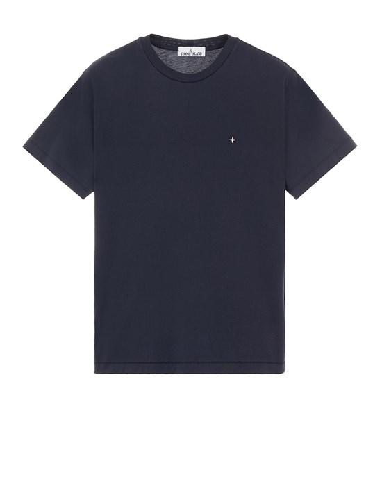 Short sleeve t-shirt Man 21213 60/2 COTTON JERSEY_SLIM FIT Front STONE ISLAND
