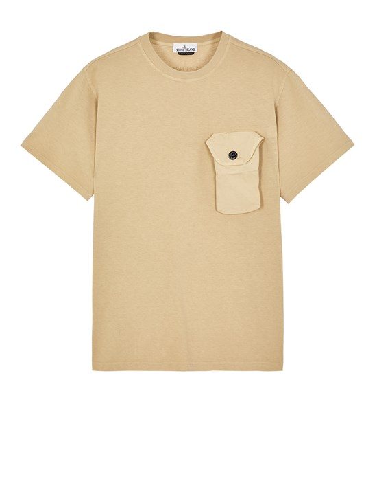 T シャツ メンズ 20144 20/1 COTTON JERSEY_LOOSE FIT Front STONE ISLAND
