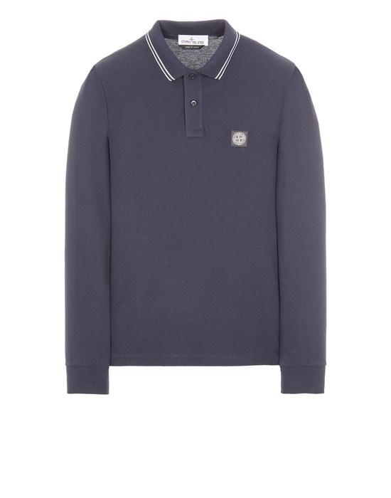 Polo shirt Man 2SS18 STRETCH COTTON PIQUÉ_SLIM FIT Front STONE ISLAND