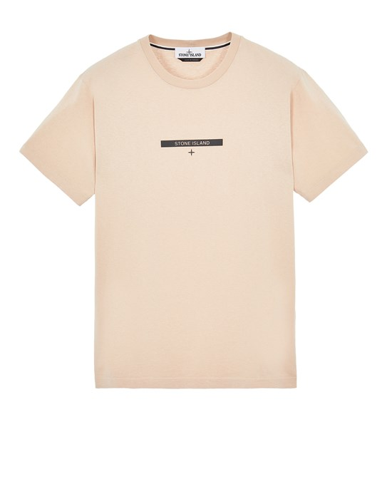 Short sleeve t-shirt Man 2NS84 COTTON JERSEY, 'MICRO GRAPHICS ONE' PRINT_SLIM FIT Front STONE ISLAND