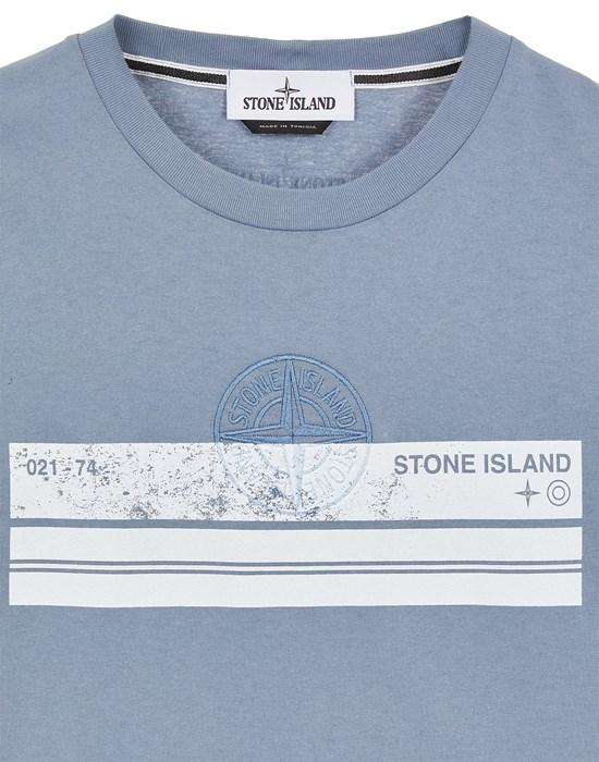 12575851dn - Polo - T-Shirts STONE ISLAND