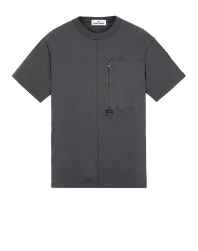 STONE ISLAND 20158 Short sleeve t-shirt Man Steel Grey EUR 159