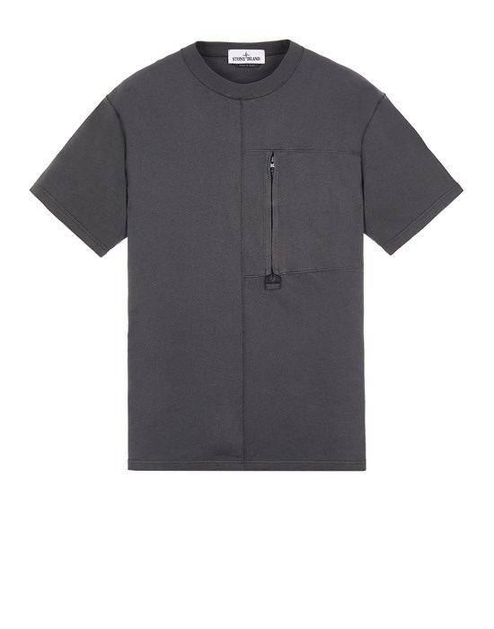 STONE ISLAND 20158 Short sleeve t-shirt Man Steel Gray