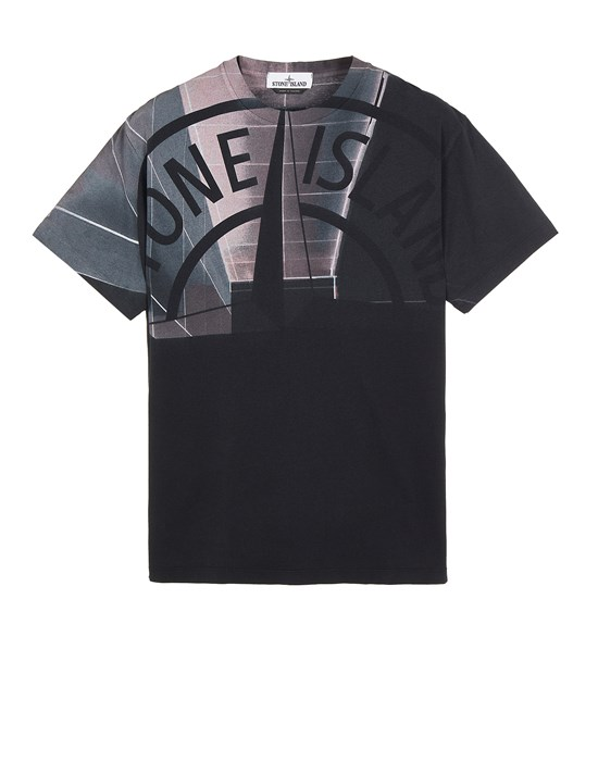 STONE ISLAND 2NS86 'URBAN 1' Short sleeve t-shirt Man Black