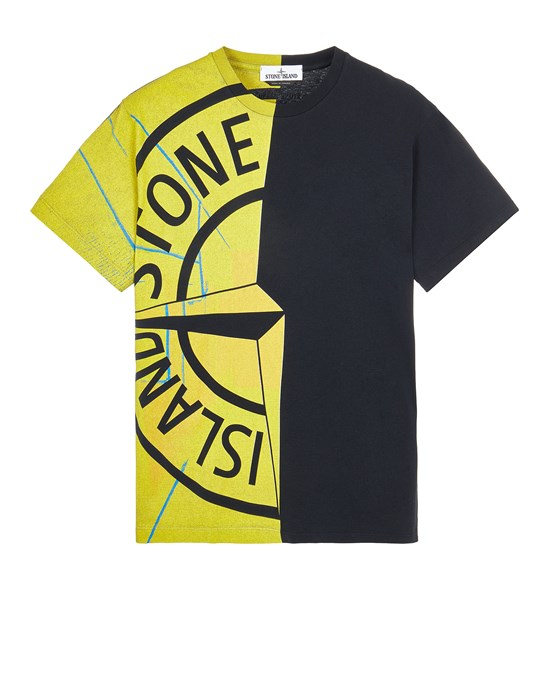 STONE ISLAND 2NS87 'URBAN 2' Short sleeve t-shirt Man Black
