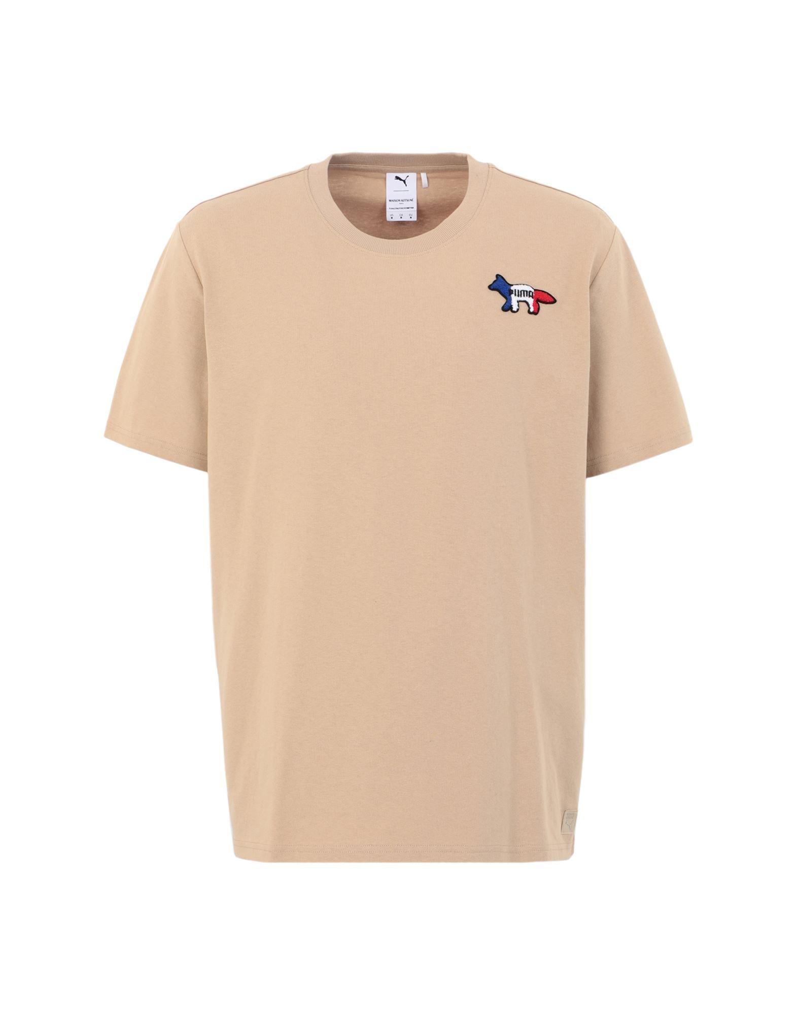 PUMA x MAISON KITSUNÉ Футболка maison kitsuné футболка