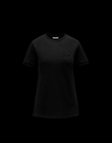 Tシャツ ブラック T-shirts & Tops レディース