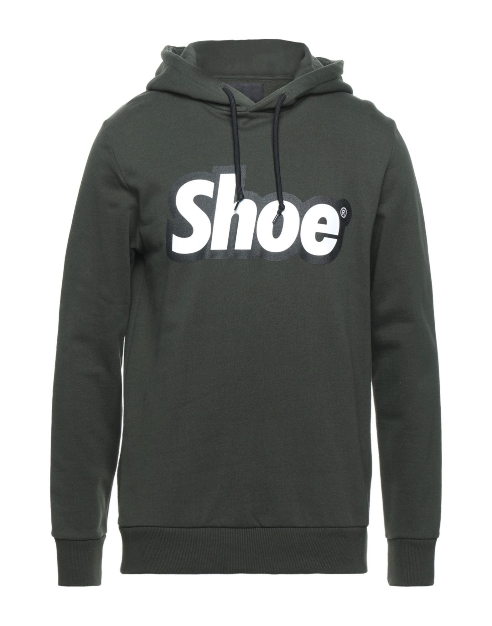 《セール開催中》SHOESHINE メンズ スウェットシャツ ミリタリーグリーン S コットン 100%
