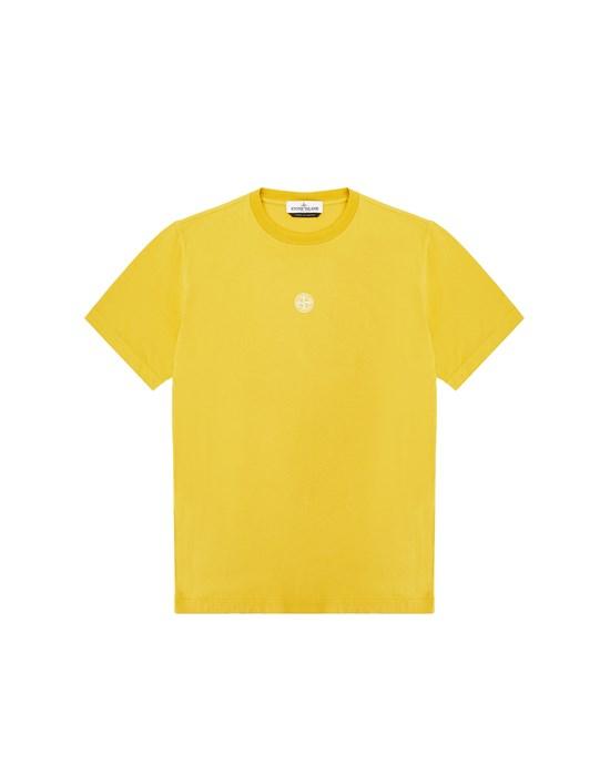 Short sleeve t-shirt Man 21055 'SCUBA ESSENTIALS ONE' Front STONE ISLAND TEEN