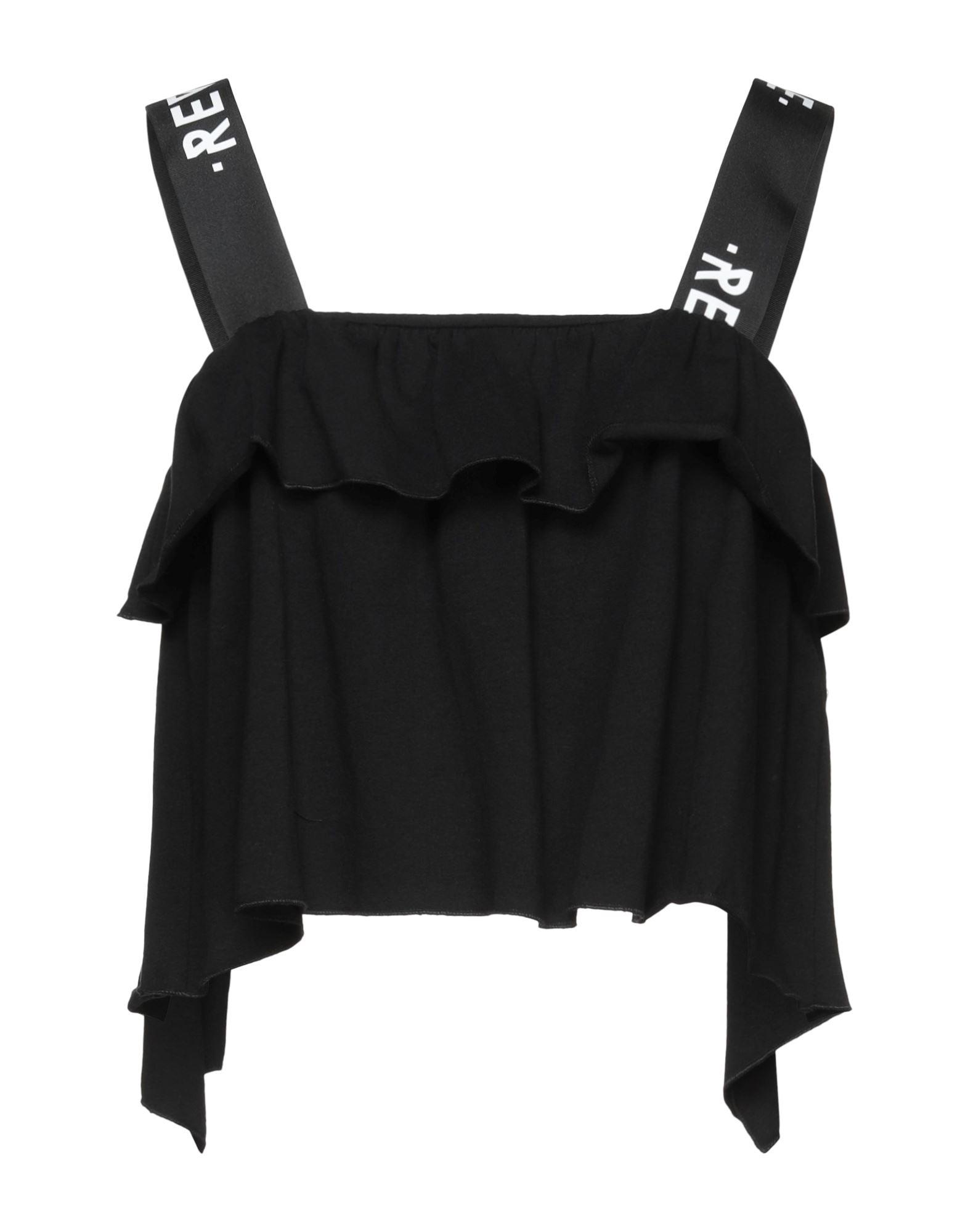 блузка с принтом без рукавов tuto REVISE Топ без рукавов