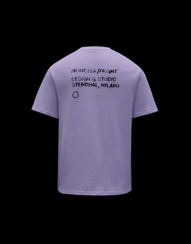 T恤 紫色 7 Moncler Fragment Hiroshi Fujiwara 男士