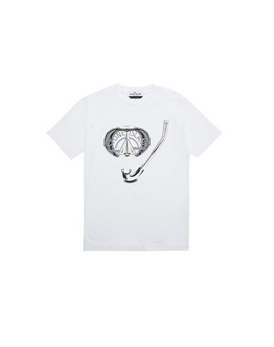 STONE ISLAND JUNIOR Short sleeve t-shirt Man 21056 'SCUBA ESSENTIALS TWO' f
