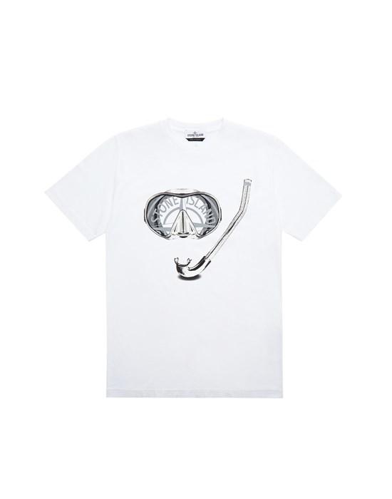 Short sleeve t-shirt Man 21056 'SCUBA ESSENTIALS TWO' Front STONE ISLAND TEEN