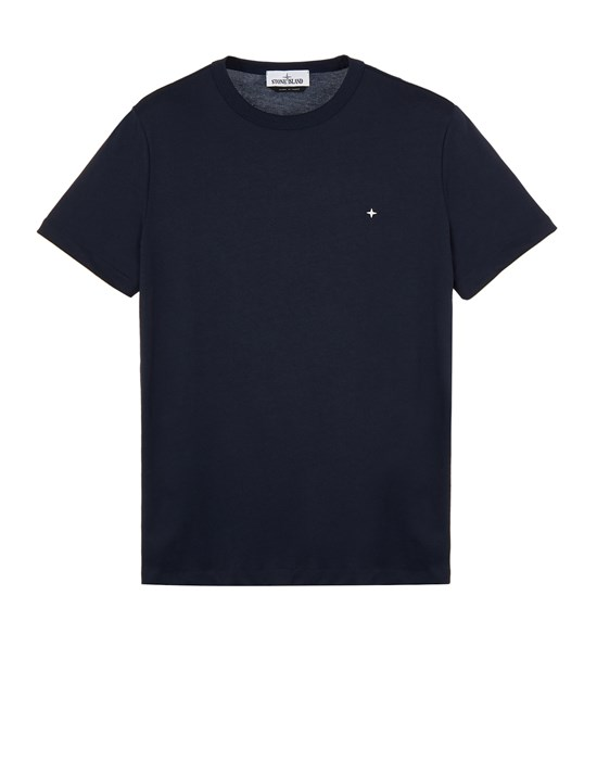 Short sleeve t-shirt Man 20336 ORGANIC COTTON/ SEAQUAL® POLYESTER YARN_SLIM FIT Front STONE ISLAND