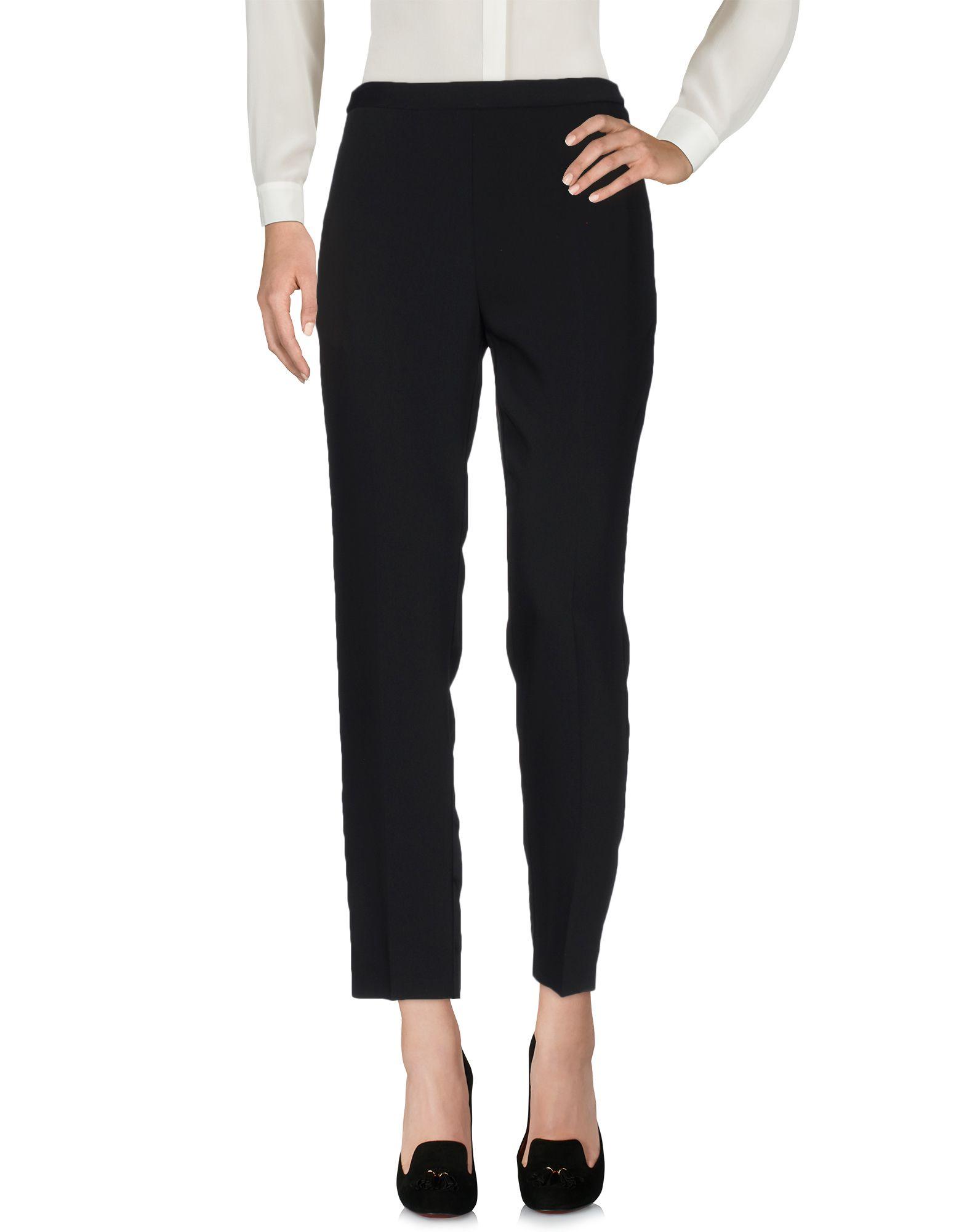 MAISON MARGIELA Damen Hose Farbe Schwarz Größe 4